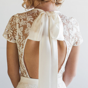 Steph Lace Bridal Romper