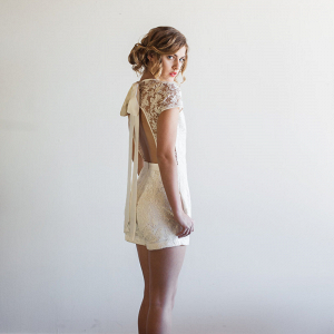 Steph Bridal Romper