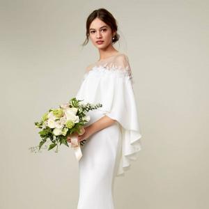 Tadashi Shoji Off Shoulder Bridal Gown