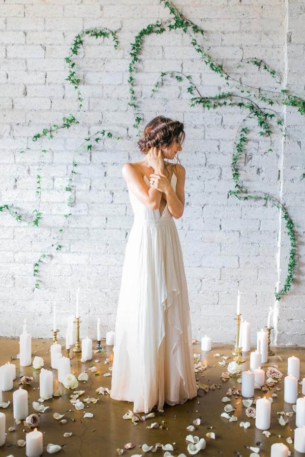 Romantic Ombre Wedding Dress