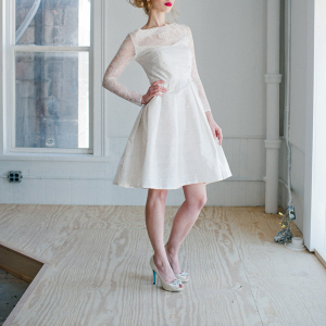 'Sophia' Short Wedding Dress
