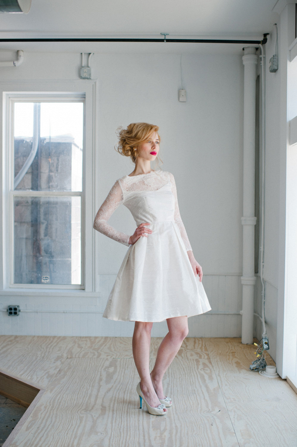 'Sophia' Short Wedding Dress