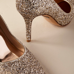 Belinda Glitter Bridal Shoes