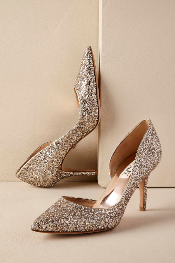 Sparkly Belinda Bridal Shoes