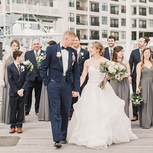 Military wedding in Virginia Beach