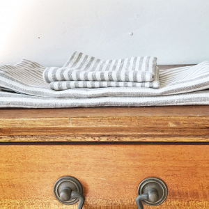 Striped Linen napkins