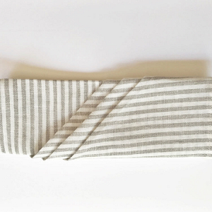 Striped Linen Napkins for Weddings