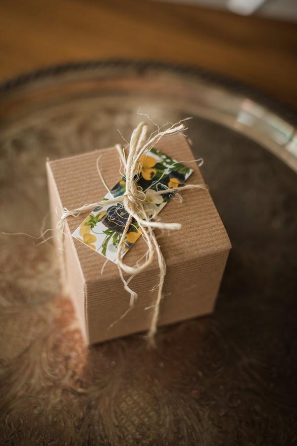 Succulent Boutonniere Box