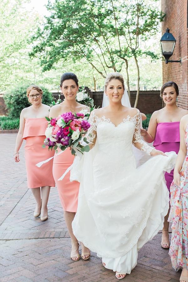 Colorful Bridesmaid Dresses