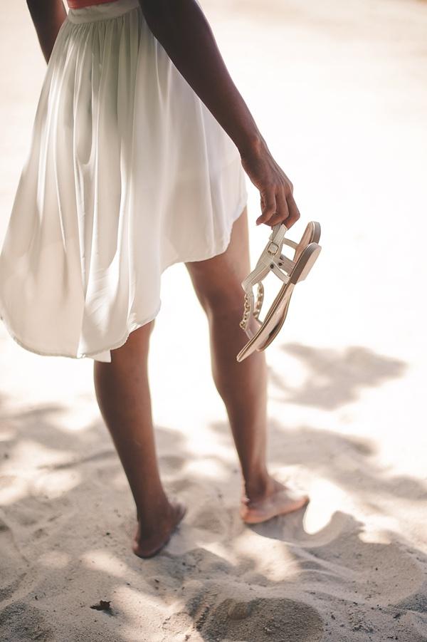 beach sandals for destination wedding