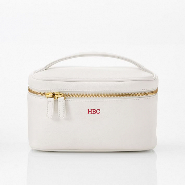 Oval Shaped Travel Case