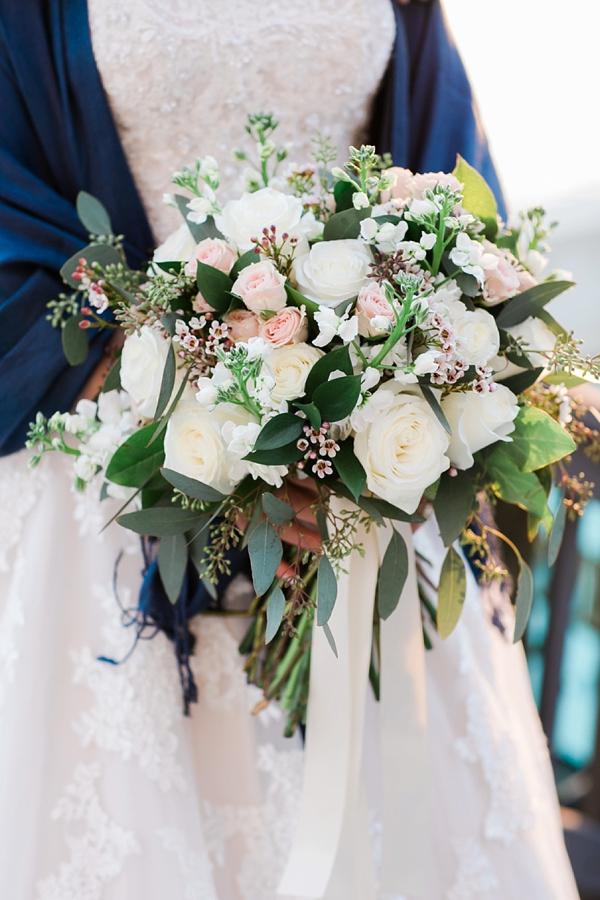 Pretty wedding bouquet
