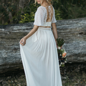 Under Your Spell 2 Piece Wedding Dress