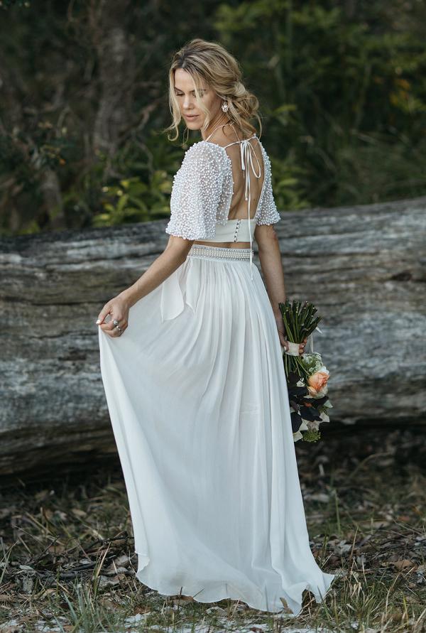 Under Your Spell 2 Piece Wedding Dress