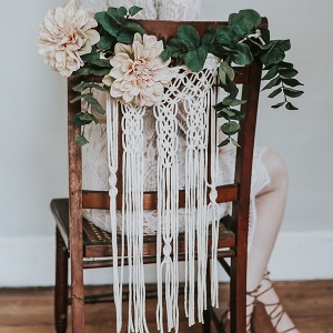 Macrame Chair Back Details