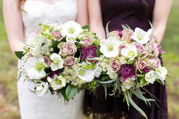 Romantic wedding bouquets