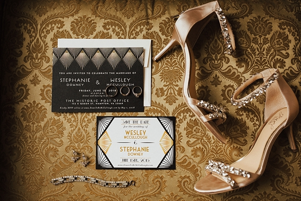 Gatsby Wedding Invitations