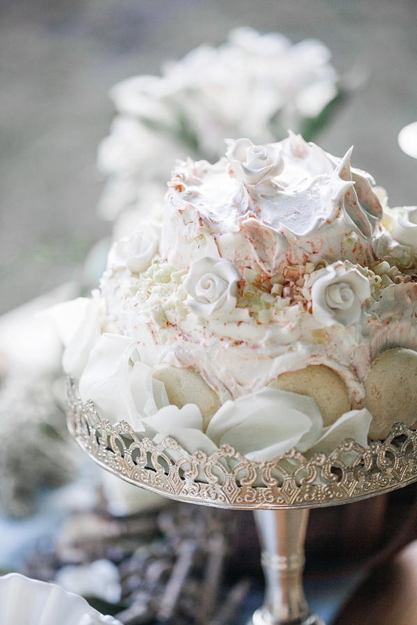 Wedding Pavlova dessert