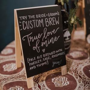 Custom Wedding Brew
