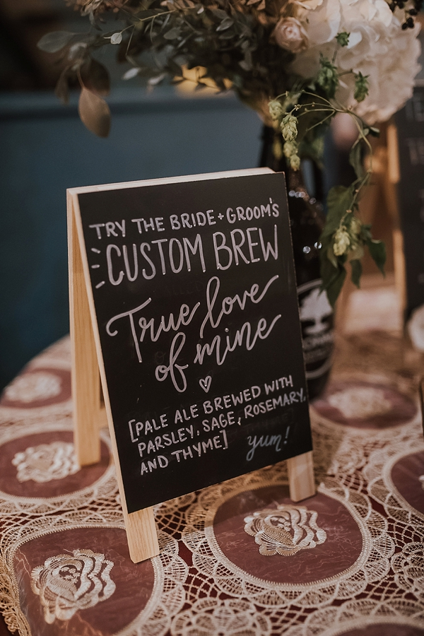 Custom Wedding Brew