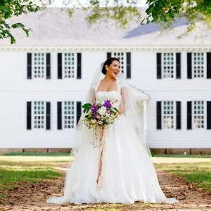 Virginia plantation garden wedding ideas