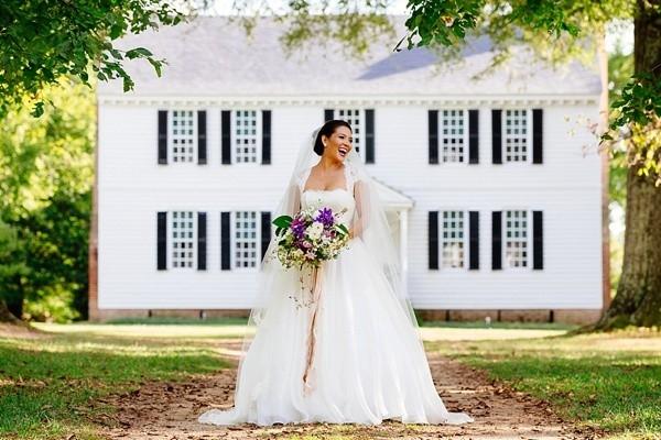 Virginia plantation garden wedding ideas