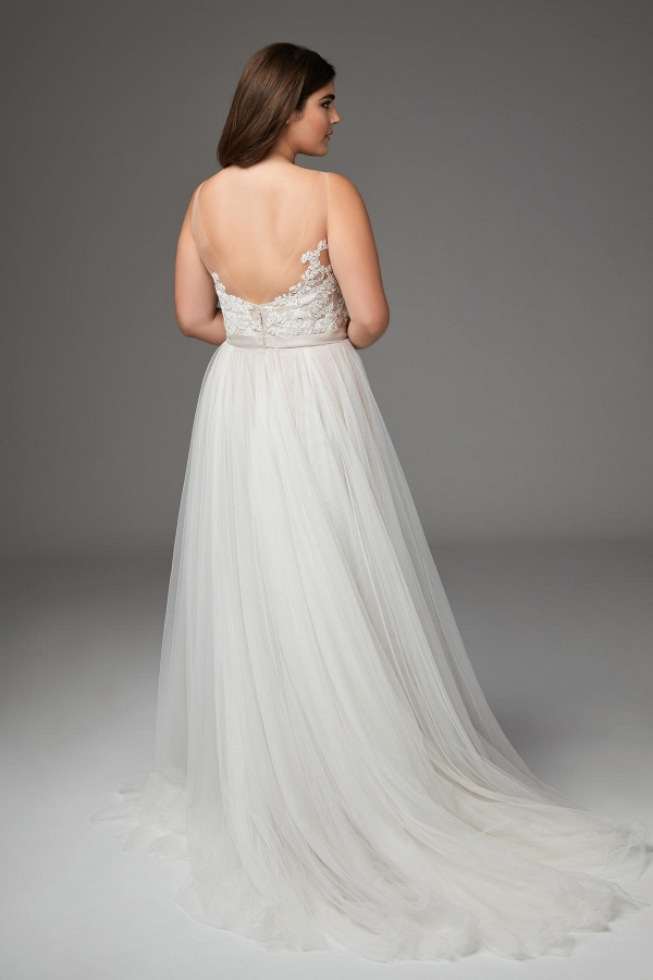 Watters Azriel Wedding Dress Back