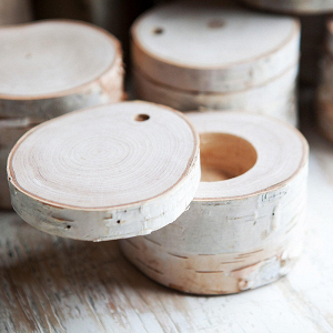 Birch Ring Box