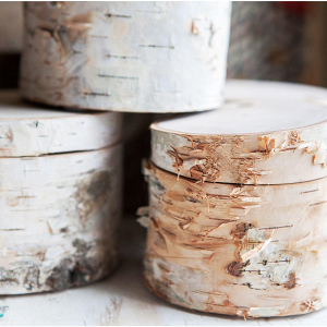 Birch Ring Boxes