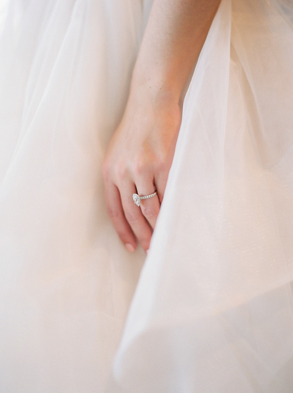 Shaped Engagement Ring