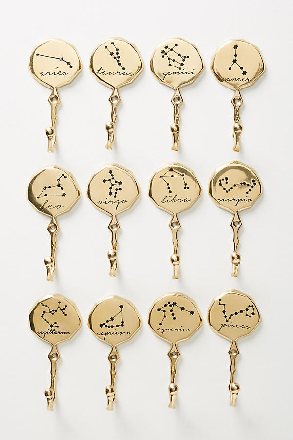 Zodiac Star Constellation Hooks