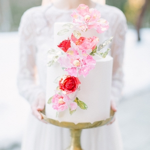 Valentines day wedding cake inspiration