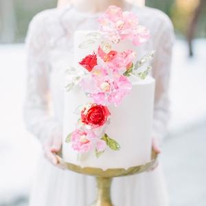 Valentines day wedding cake inspiration