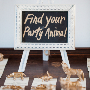 Animal escort cards