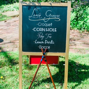 Elkridge Furnace brunch wedding lawn games and wedding activities