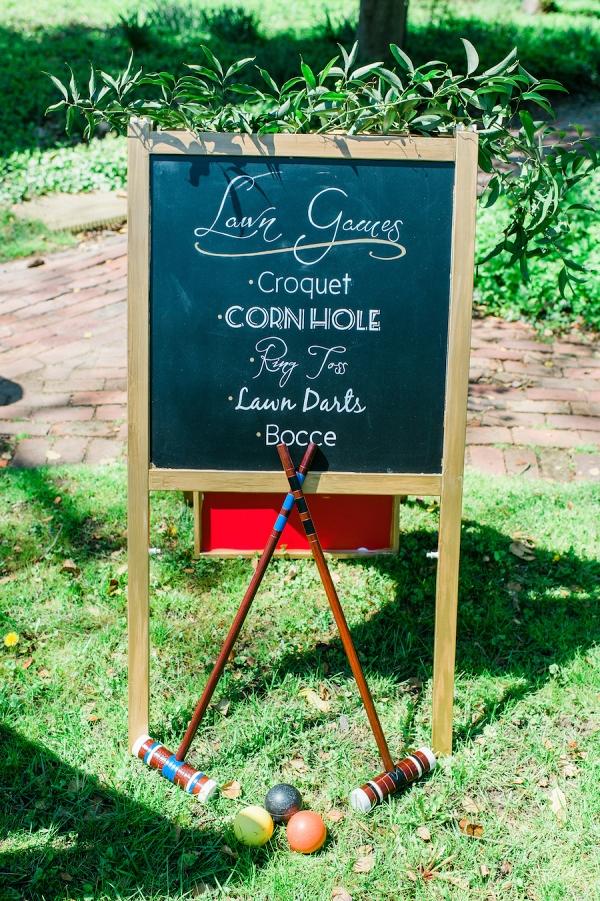 Elkridge Furnace brunch wedding lawn games and wedding activities