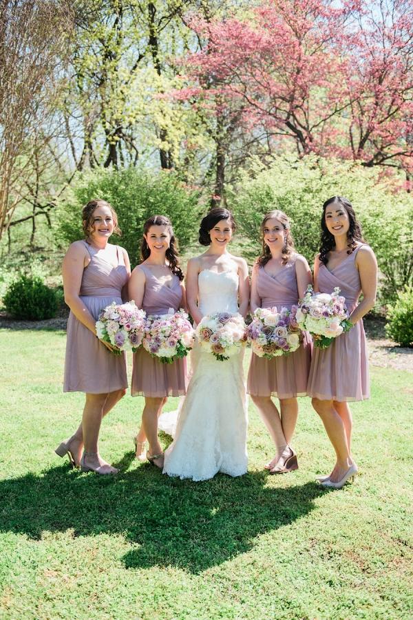 romantic brunch maryland wedding