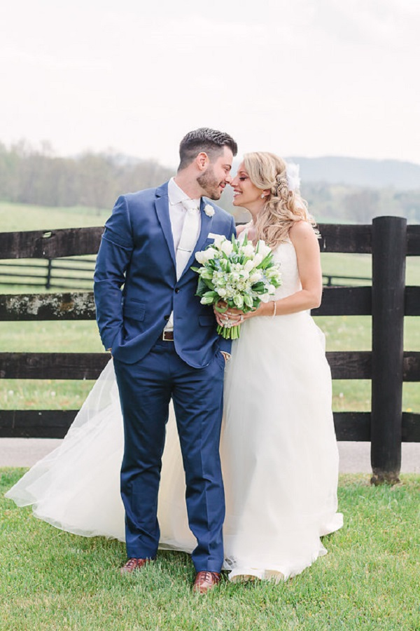 Spring Marriott Ranch couple wedding portraits