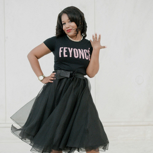 Feyonce Shirt and Tulle Skirt D.C. Engagement Session