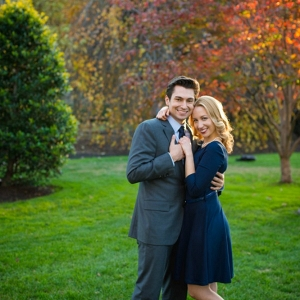 Georgetown Love Engagement Shoot with Stunning Fall Colors