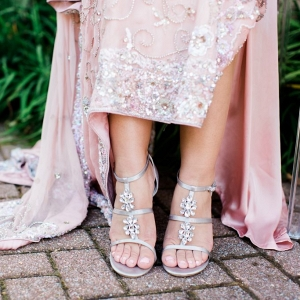 rhinestone bridal shoes