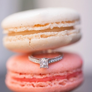 Paris-esque Georgetown Macaron Engagement Shoot