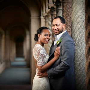 DC bride and groom