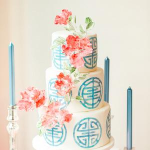 Asian inspired cake