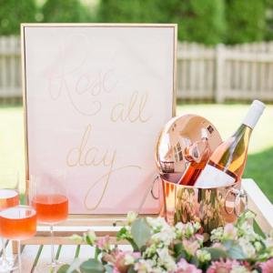 Rose bridal shower