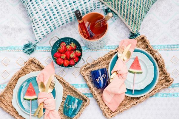 Summery picnic