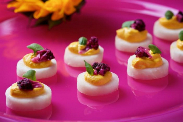 Colorful catering