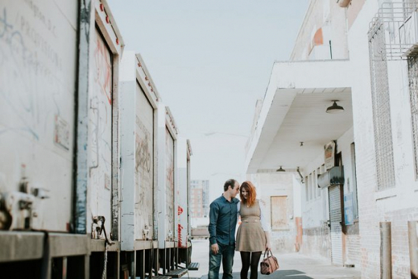 Sweet Urban Engagement Shoot