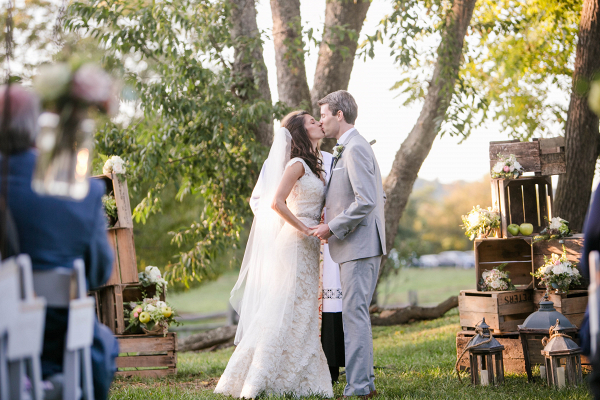 Virginia Home Wedding - Kristen Gardner Photography